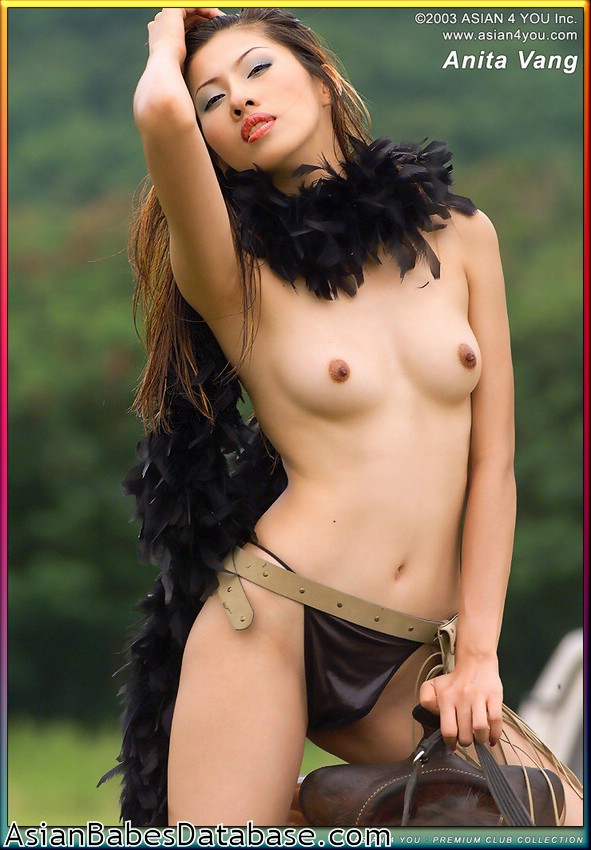 Nude Asian Girl On Horseback