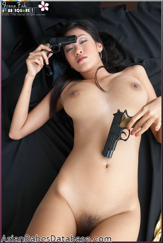 Chicks guns naked Hot with