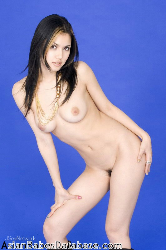 Nude asian toon calendar models