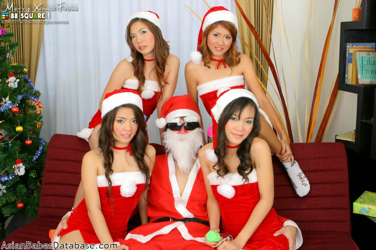 Speaking the asian santa porn that would