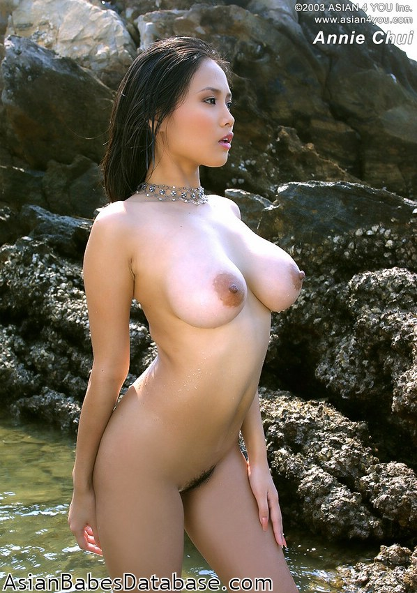 Asian girls in water naked tell