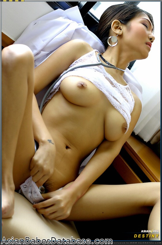 asian nurse Pleasure