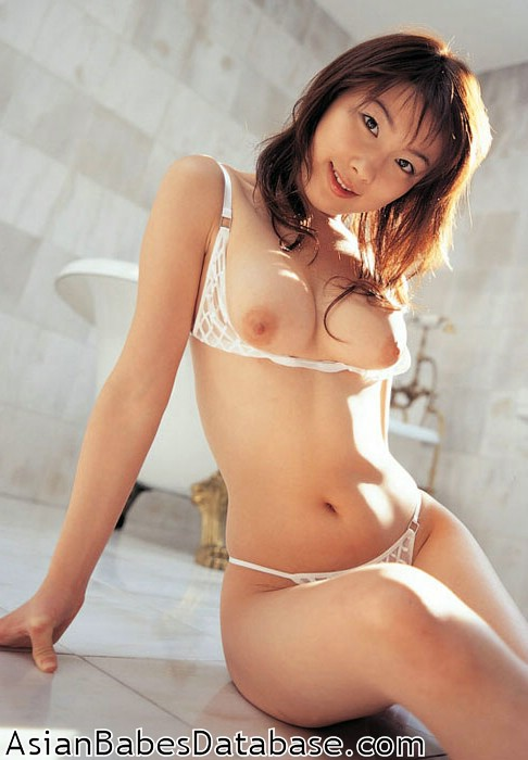Japanese sexy naked bath girl, penis erection oops