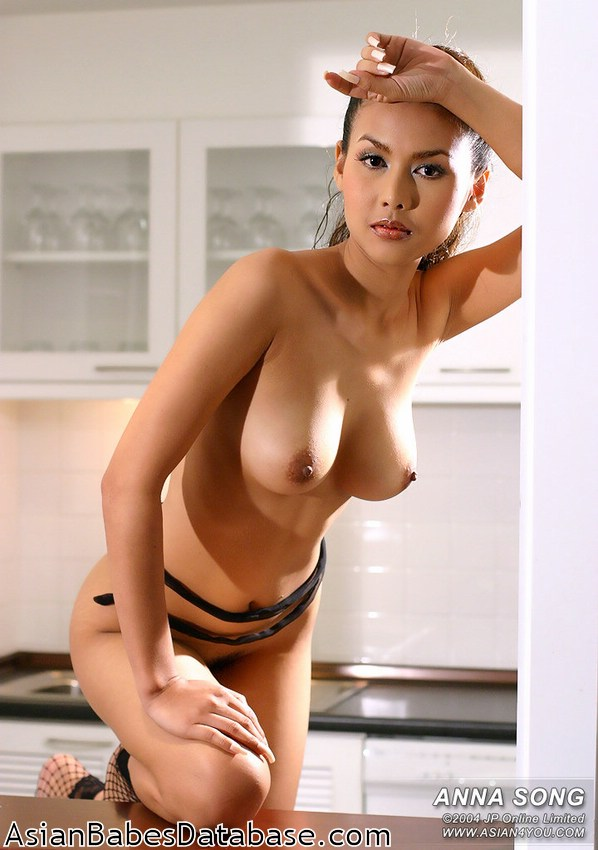 Asian closeup Sexy nude