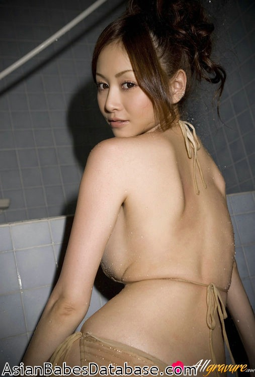 asian gravure nude Busty