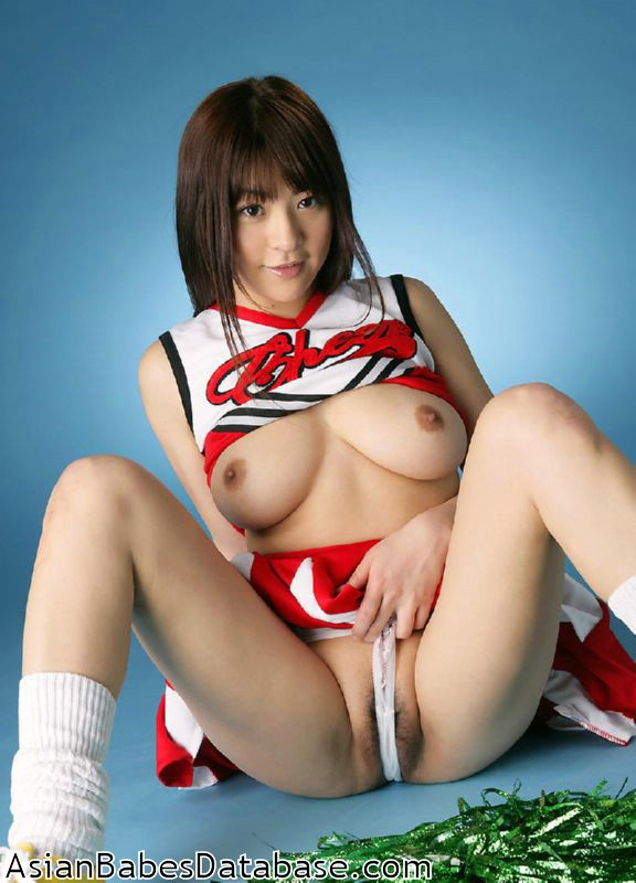 Nude asian cheerleader