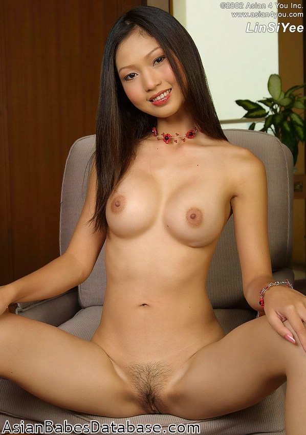 A Pale Naked Female Asian