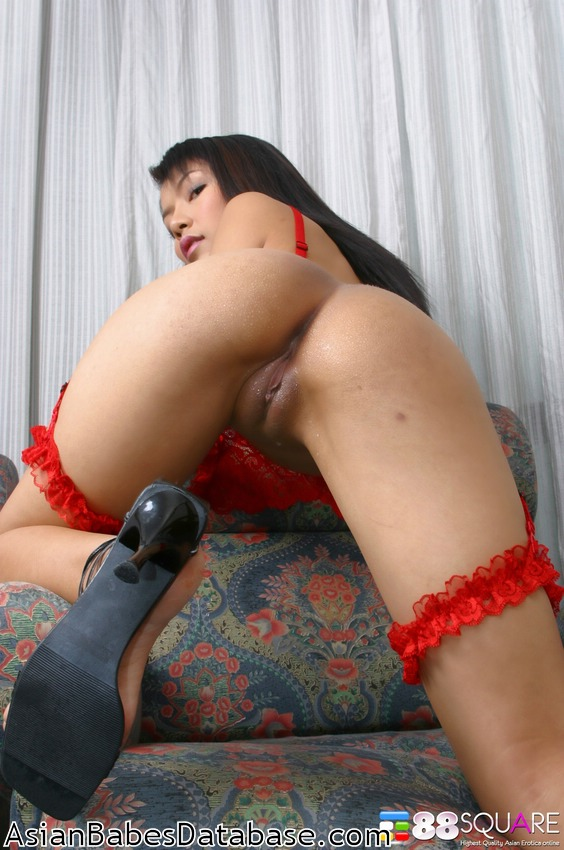 Asian big tits shaved pussy