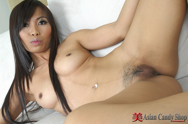 The hot asian nude body consider, that