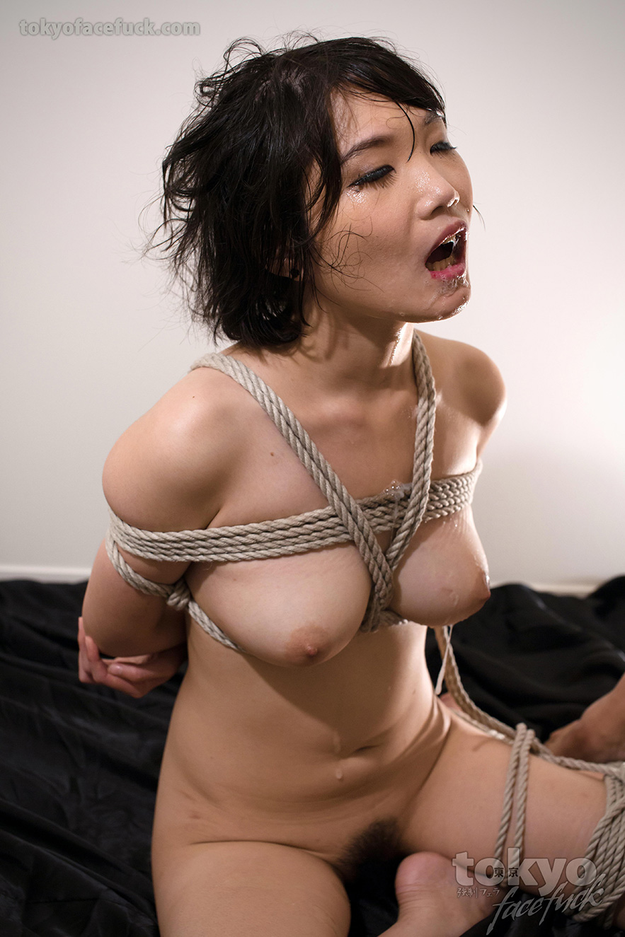 Sexy girl tied up having sex